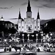 St. Louis Cathedral New Orleans Art Print