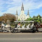 St Louis Cathedral New Orleans Art Print