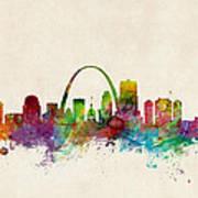 St Louis Missouri Skyline Art Print