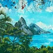 St. Lucia - W. Indies Art Print