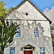 St. Luke African Methodist Episcopal Church - Ellicott City Maryland Art Print