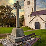 St. Marcellas Celtic Cross Art Print