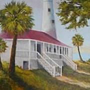 St. Marks Lighthouse Art Print