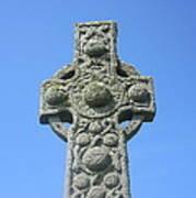 St. Martin's Cross Close Up Art Print