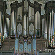 St Martins In The Field Organ Art Print