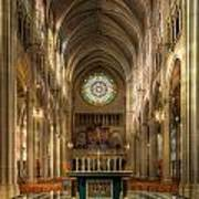 St. Mary Cathedral Basilica Of The Assumption Art Print