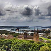 St Mary's Cathedral - Sydney Australia V2 Art Print