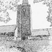 St Marys Church Tenby Art Print
