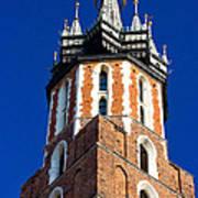 St. Mary's Church Tower Art Print