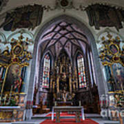 St. Maurice Church - Appenzell - Switzerland Art Print