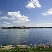 St Mawes From Pendennis Point Art Print