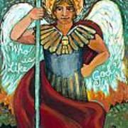 St. Michael The Archangel Art Print