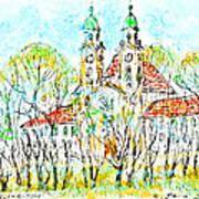 St. Michaeli Church In Munich Art Print