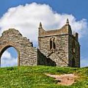 St Michael's Church - Burrow Mump 4 Art Print