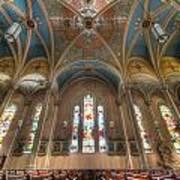 St. Michael's Church Windows Art Print