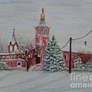 St. Nicholas Church Roebling New Jersey Art Print