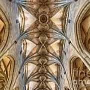 St. Nikolaus Munster Art Print