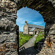 St Patrick Arch Art Print by Adrian Evans