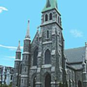 St Patrick Cathedral Art Print