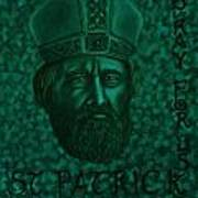 St Patrick Art Print