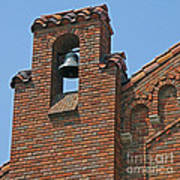 St Patrick Parish Bell Tower Art Print
