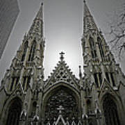 St. Patricks Cathedral  Art Print by Angela Wright