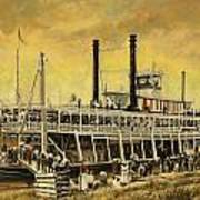 St. Paul Steamboat Art Print