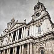 St Pauls Cathedral In London Uk Art Print