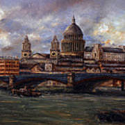 St. Paul's  Cathedral  - London Art Print