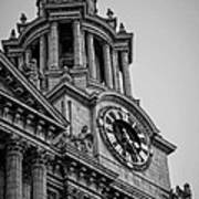 St Pauls Clock Tower Art Print