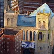 St Pauls Nyc Art Print