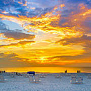 St. Pete Beach Sunset Art Print