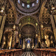 St. Peter And Paul Cathedral Print by Kim Zier