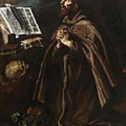 St Peter Of Alcantara Art Print