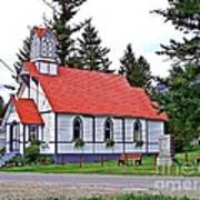 St Peters Anglican Church Art Print