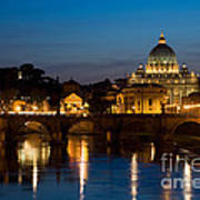 St. Peters Basilica Art Print
