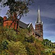 St. Peter's Of Harpers Ferry Art Print by Lois Bryan