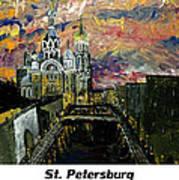 St  Petersburg Art Print
