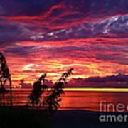 St. Petersburg Sunset Art Print