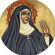 St. Rita Of Cascia Patroness Of The Impossible 206 Art Print