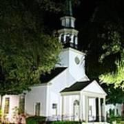 St Simons Island Presbyterian Church Art Print