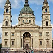 St. Stephen's Basilica In Budapest Art Print