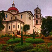 St. Thomas Aquinas Church Large Canvas Art, Canvas Print, Large Art, Large Wall Decor, Home Decor Art Print