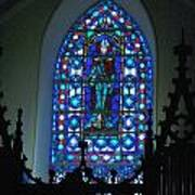 St Thomas Stained Glass Art Print