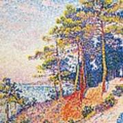 St Tropez The Custom's Path Print by Paul Signac