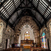 St Tudcluds Church Art Print by Adrian Evans