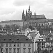St. Vitus Cathedral Prague Art Print