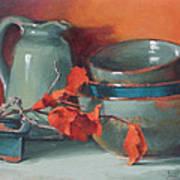 Stacked Bowls #4 Art Print