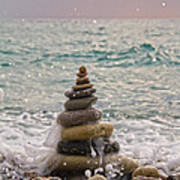 Stacking Stones Art Print