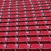 Stadium Seating Art Print